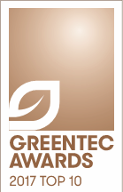 FUELSAVE GmbH voted in the TOP 10 of the Greentec Awards 2017